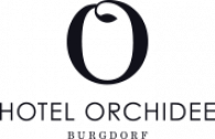 Hotel Orchidee Burgdorf Logo footer black